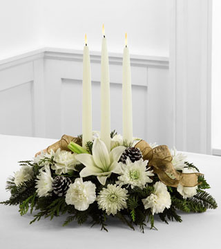 FTD's Glowing Elegance Centrepiece