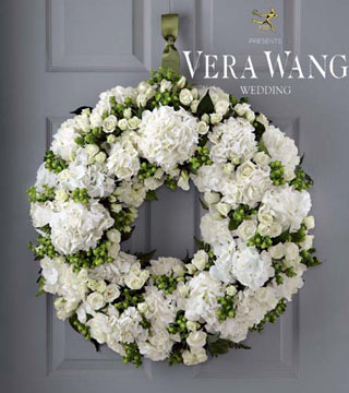 For All Eternity Wreath by Vera Wang