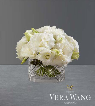 Through the Years Lisianthus Bouquet by Vera Wang