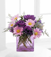 Teleflora's Lavender Sunset Bouquet
