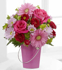 Colour Your Day with Happiness Bouquet