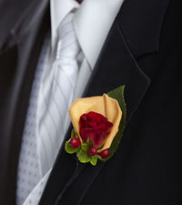 Breathless Boutonniere