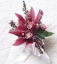 Orchid Pin On Corsage