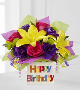 The FTD Happy Birthday Bouquet