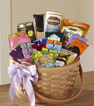 Tea Lover's Basket