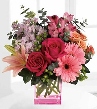 Telelfora's Painterly Pink Bouquet