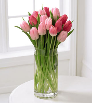 FTD's Deluxe Tender Tulips Bouquet