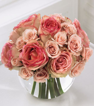 Love's Blush Bouquet