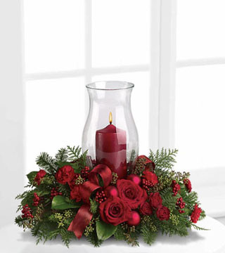Holiday Glow Centrepiece