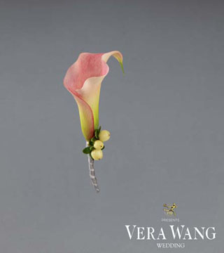Forever Joy Boutonniere by Vera Wang
