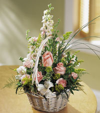 Blushing Beauty Basket