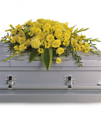 Graceful Grandeur Casket Spray