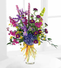 Graceful Purples Arrangement