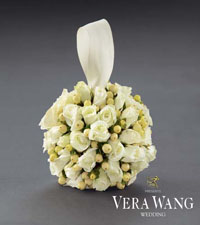 To Be True Flower Girl Pomander by Vera Wang