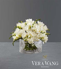 Through the Years Freesia Bouquet by Vera Wang