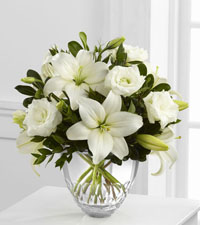White Elegance Bouquet by Vera Wang