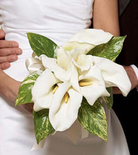 Calla Lily Promise Bouquet