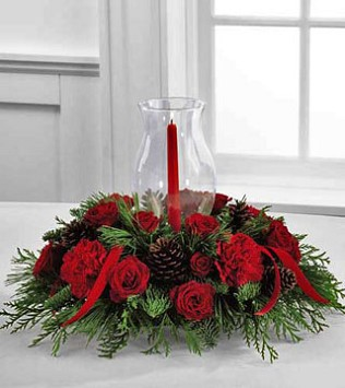 Holiday Traditions Candle Centrepiece