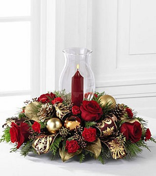 FTD's Lights of the Season Centrepiece