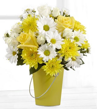 Colour Your Day with Sunshine Bouquet