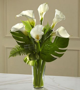 Always Adored Calla Lily Bouquet