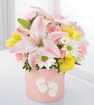 Sweet Dreams Bouquet for Baby Girl